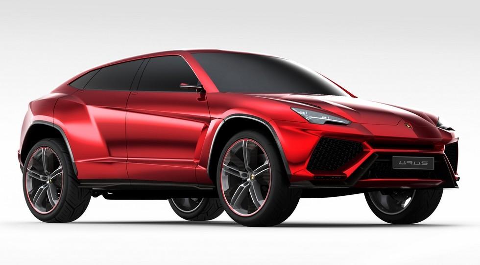 Кроссовер Lamborghini Urus будет первым «гибридом» марки