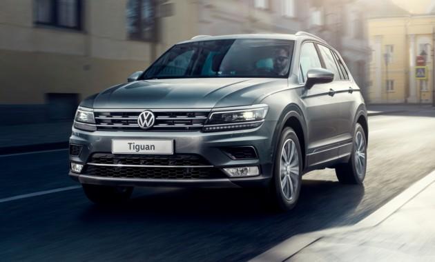 Объявлены рублёвые цены нового Volkswagen Tiguan