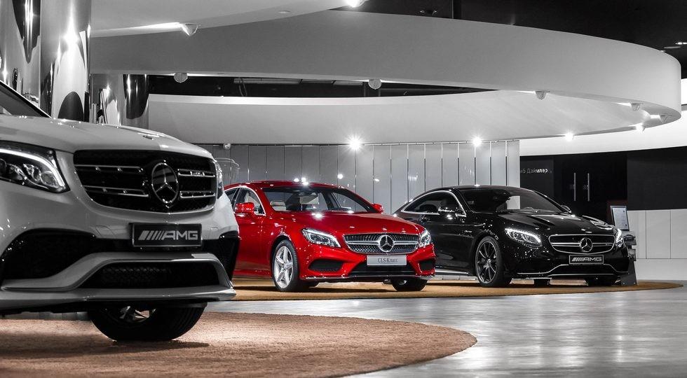 Mercedes стал лидером впремиум-сегменте на русском рынке