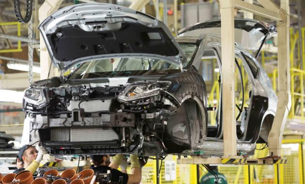 Производство машин вПетербурге упало на9 процентов