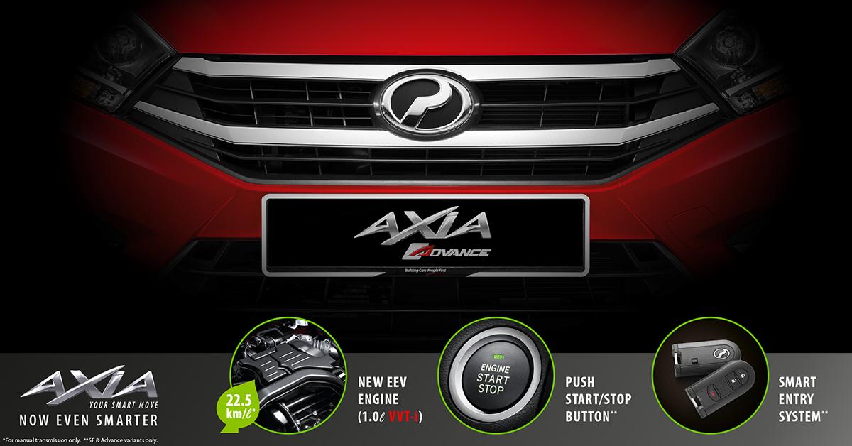 Маркетинговые фотографии автомобиля Perodua Axia опубликовали вглобальной web-сети