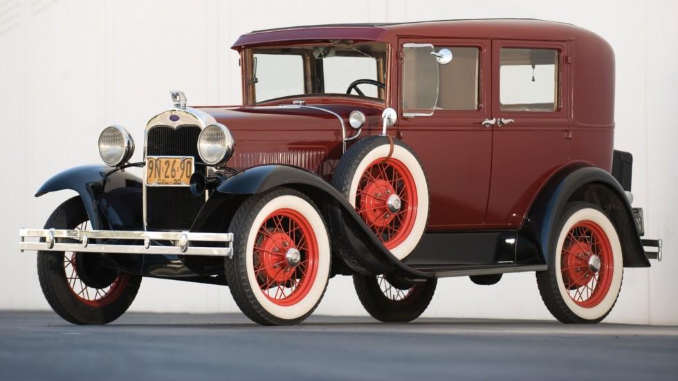 На фото: Ford Model A `1930–31