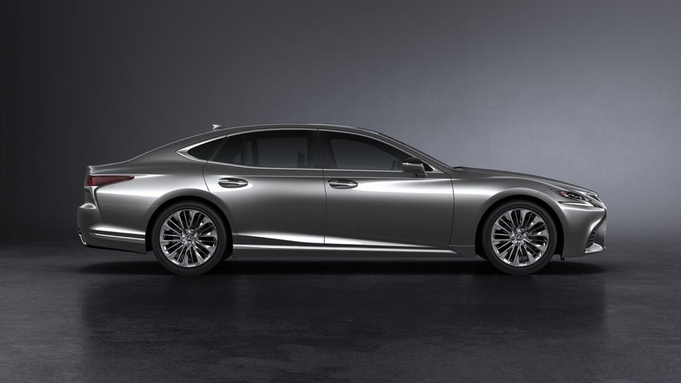 Lexus LS 500 дебютировал в Детройте