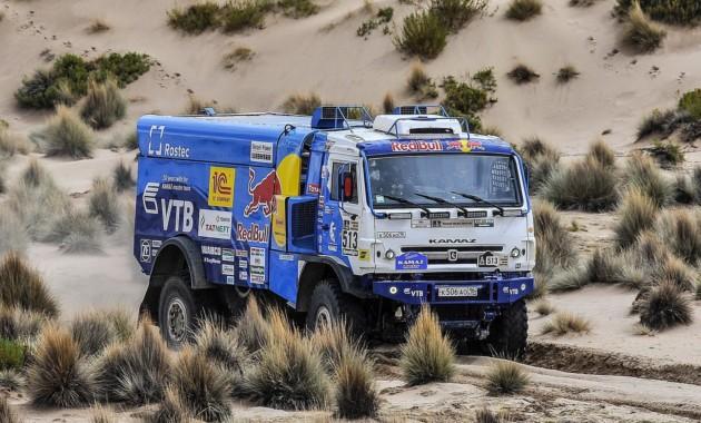 Команда «КАМАЗ-мастер» победила в грузовом зачете ралли «Дакар»