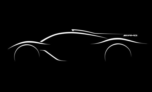 Mercedes выпустит гиперкар сагрегатом отмашины Ф1