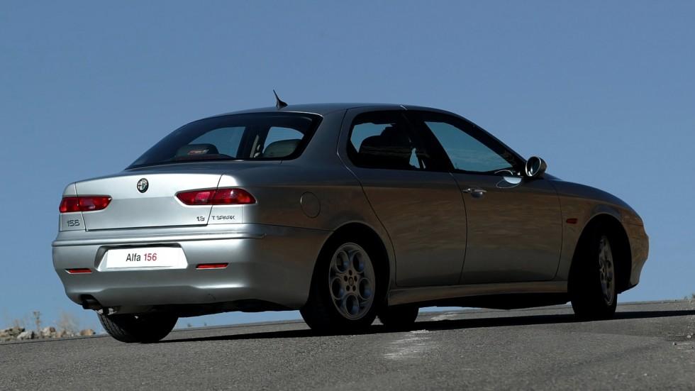 На фото: Alfa Romeo 156 (932A) '02002–2003
