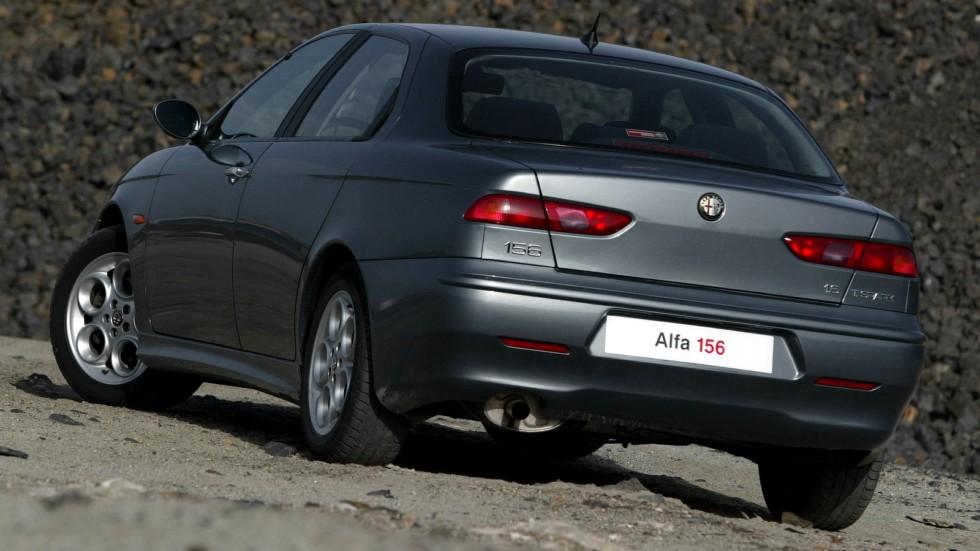 На фото: Alfa Romeo 156 (932A) '2002–2003
