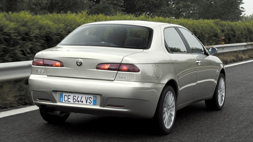 На фото: Alfa Romeo 156 (932A) '2003–2005