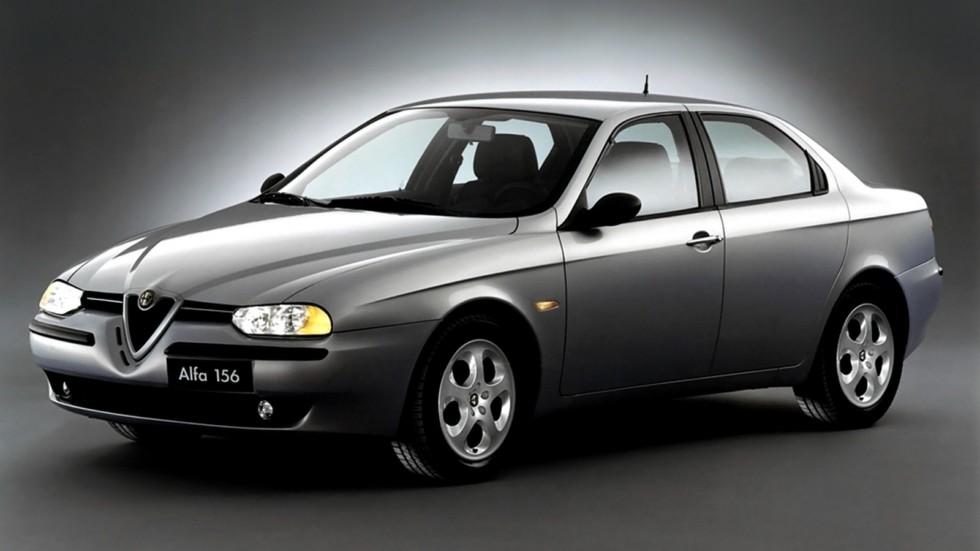 На фото: Alfa Romeo 156 (932A) '1997–2002