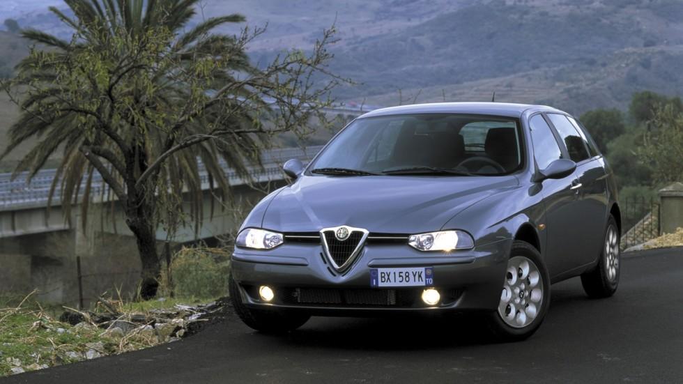 На фото: Alfa Romeo 156 Sportwagon (932B) '2002–2003