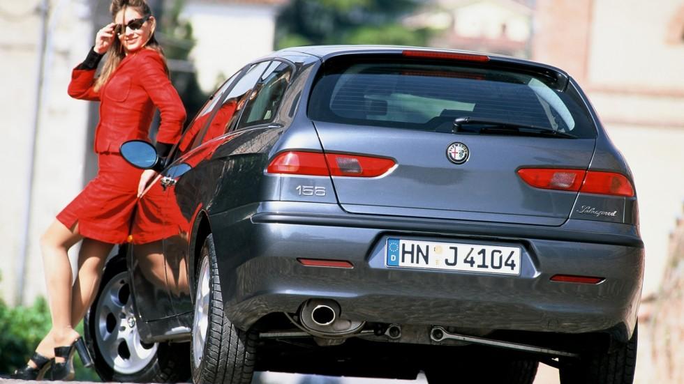 На фото: Alfa Romeo 156 Sportwagon (932B) '2000–2002