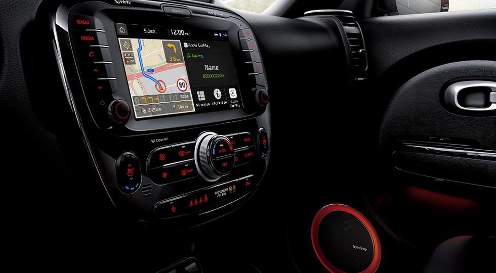 Русские Киа получили систему для мультимедиа сApple CarPlay и андроид Auto