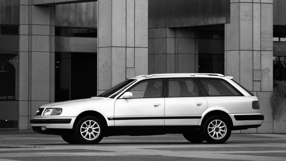 На фото: Audi 100 Avant (4A,C4) '1990–94