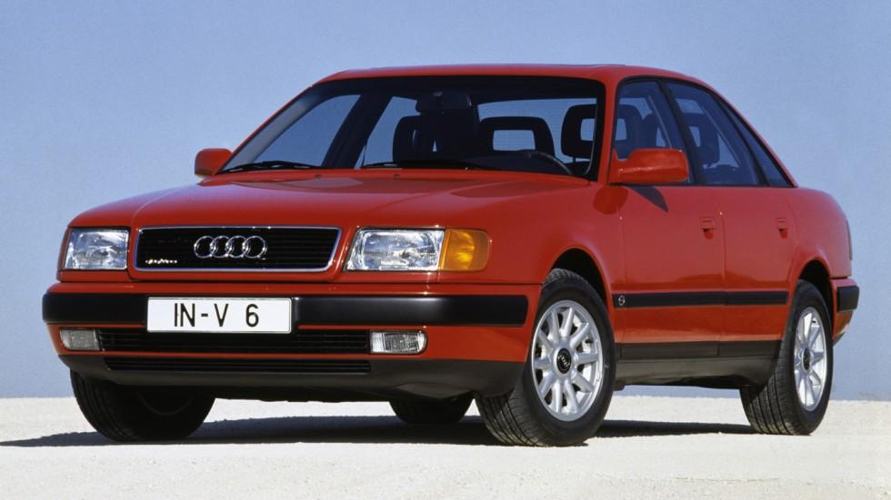 На фото: Audi 100 quattro (4A,C4) '1990–94