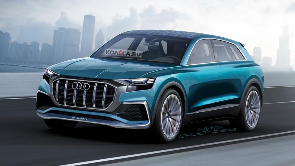 Audi Q8 e-tron front