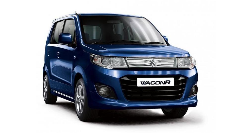 Сузуки показала публике модель Wagon R