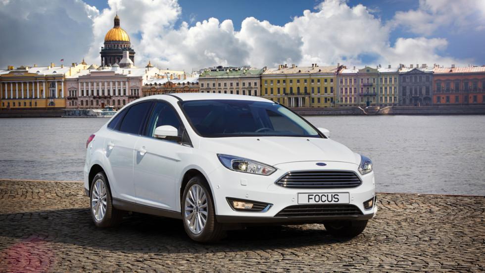 Focus сохранил звание самой популярной модели Ford на российском рынке  Focus сохранил звание самой популярной модели Ford на российском рынке