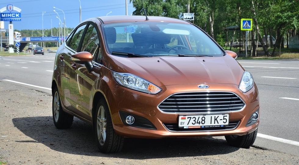 На фото: Ford Fiesta