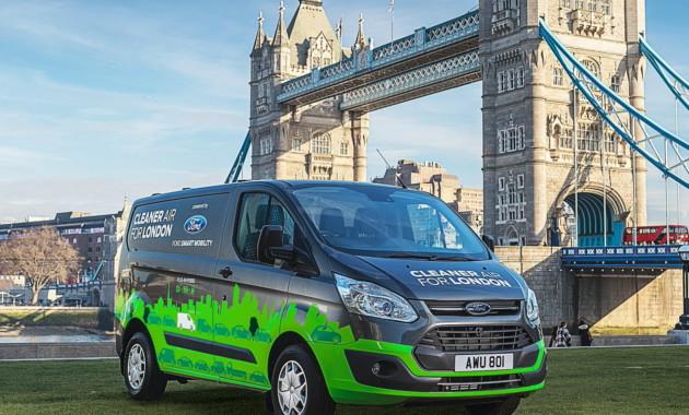 Форд договорился свластями Лондона отестах гибридных фургонов