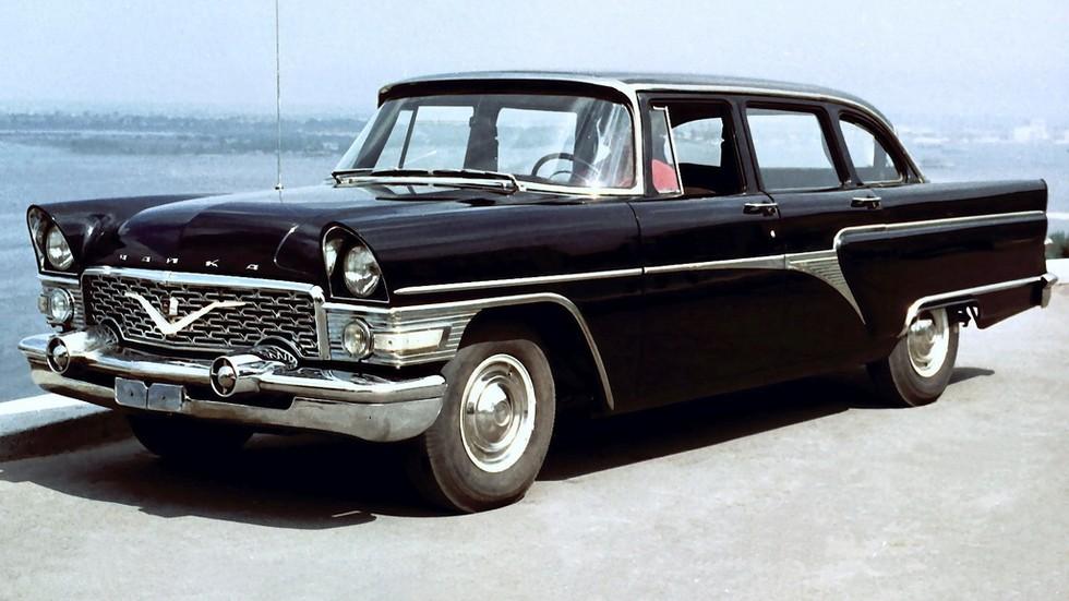 На фото: ГАЗ-13 Чайка '1959–81