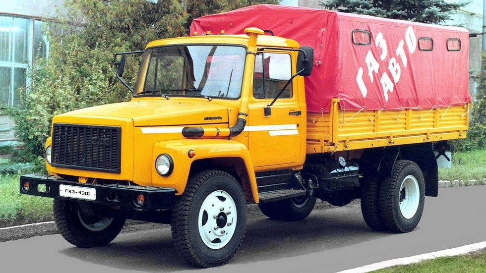 На фото: ГАЗ-4301 '1992–95