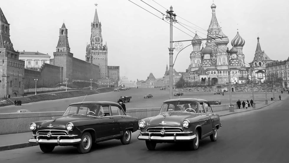 На фото: ГАЗ-М21 Волга '1956–1958