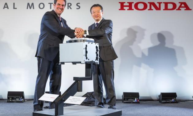 Компании дженерал моторс и Хонда начали общий проект посозданию водородомобилей