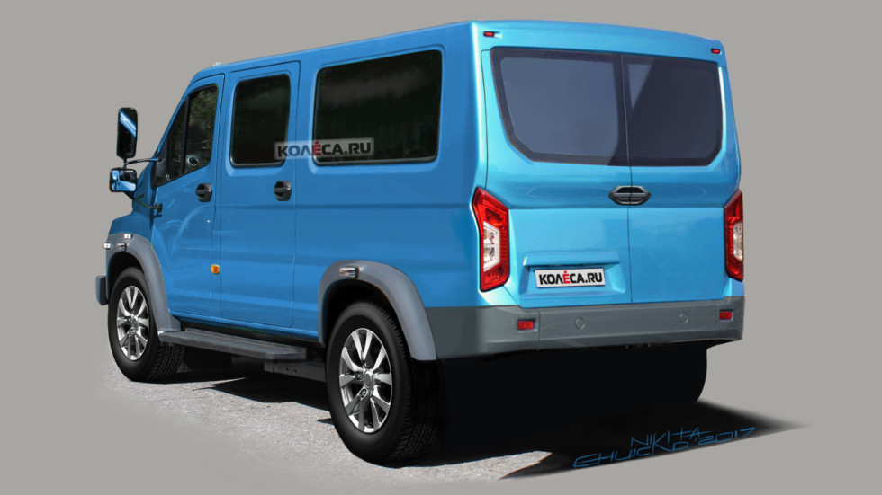 Gazon Nexter rear1