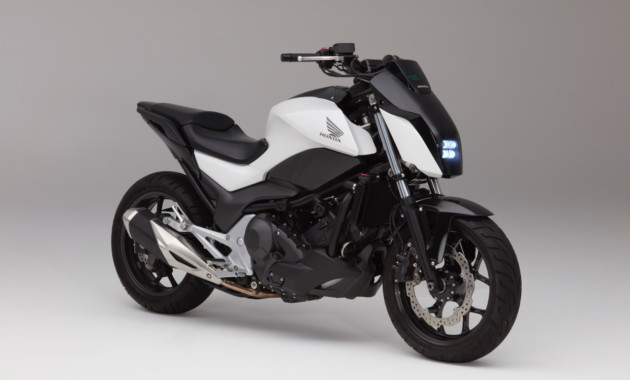 Honda разработала самобалансирующийся мотоцикл