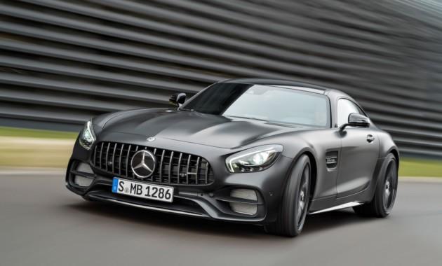 Дорожному Mercedes-AMGGT прибавили полноуправляемое шасси