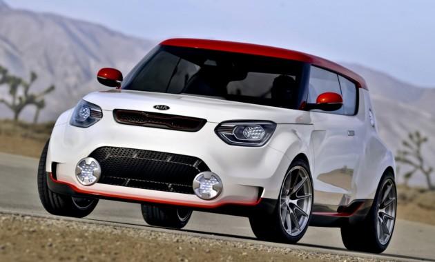 Kia может построить конкурента MINI Cooper S  на базе концепта Trackster