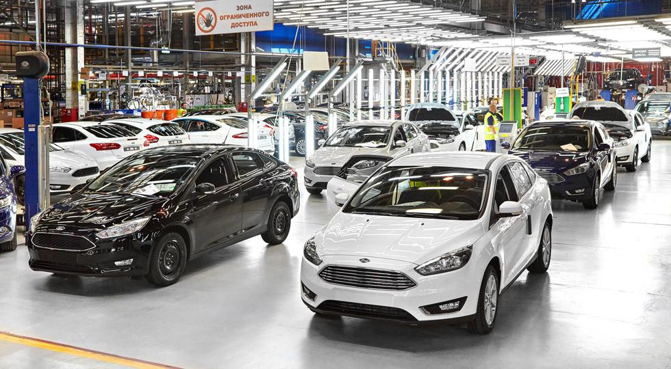 Форд вчетверо увеличил экспорт из Российской Федерации