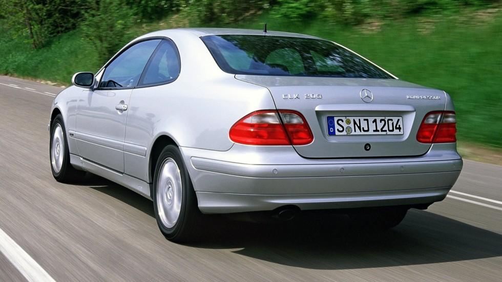 На фото: Mercedes-Benz CLK 200 Kompressor (208) '2000–02