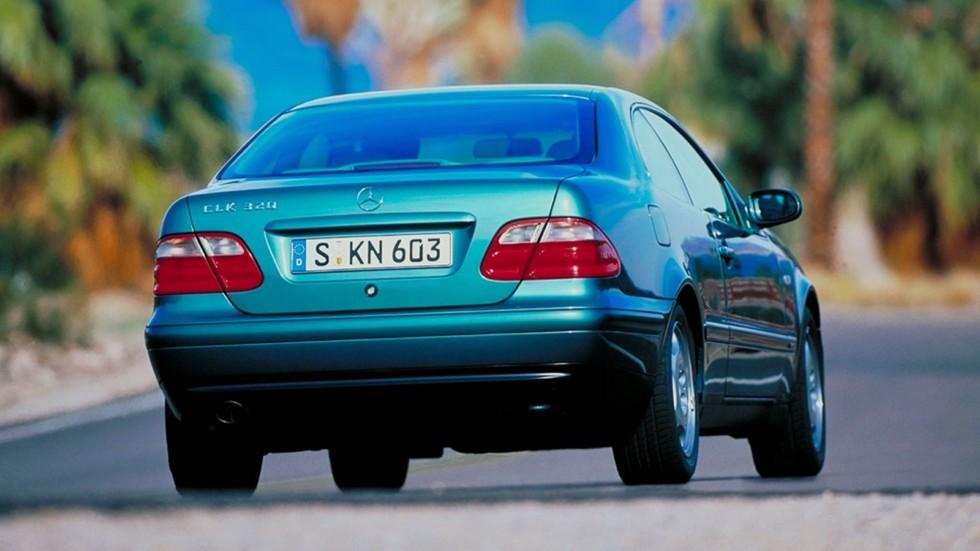 На фото: Mercedes-Benz CLK 320 Worldwide (208) '1997–2002