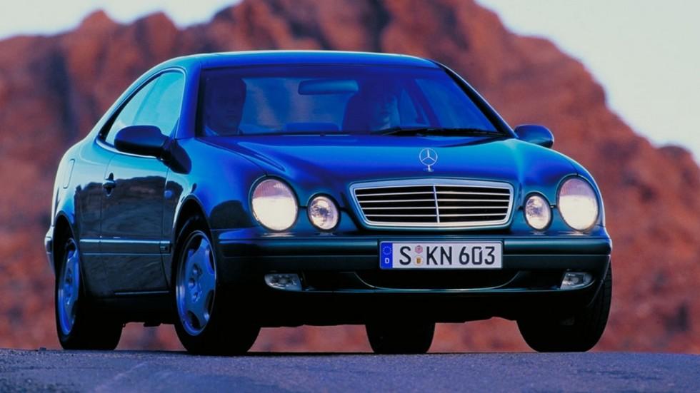 На фото: Mercedes-Benz CLK 320 (208) '1997–2002