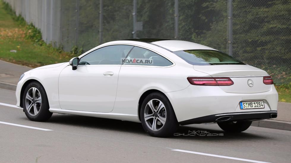 Mercedes-Benz E-coupe rear