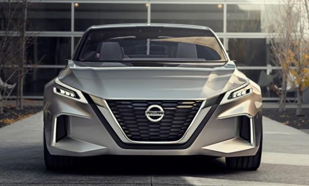 Nissan показал в Детройте концептуальный седан