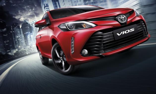Обновленную Тойота Vios представили вТаиланде