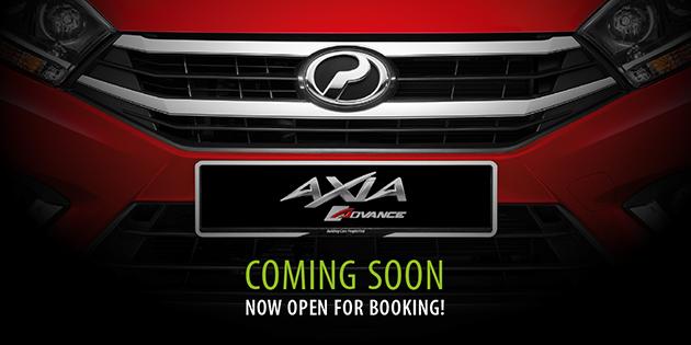 Обновлённый ситикар Perodua Axia показался наофициальном тизере