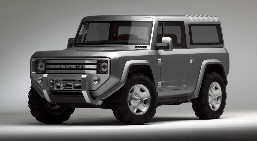 Официально: Ford возродит внедорожник Bronco