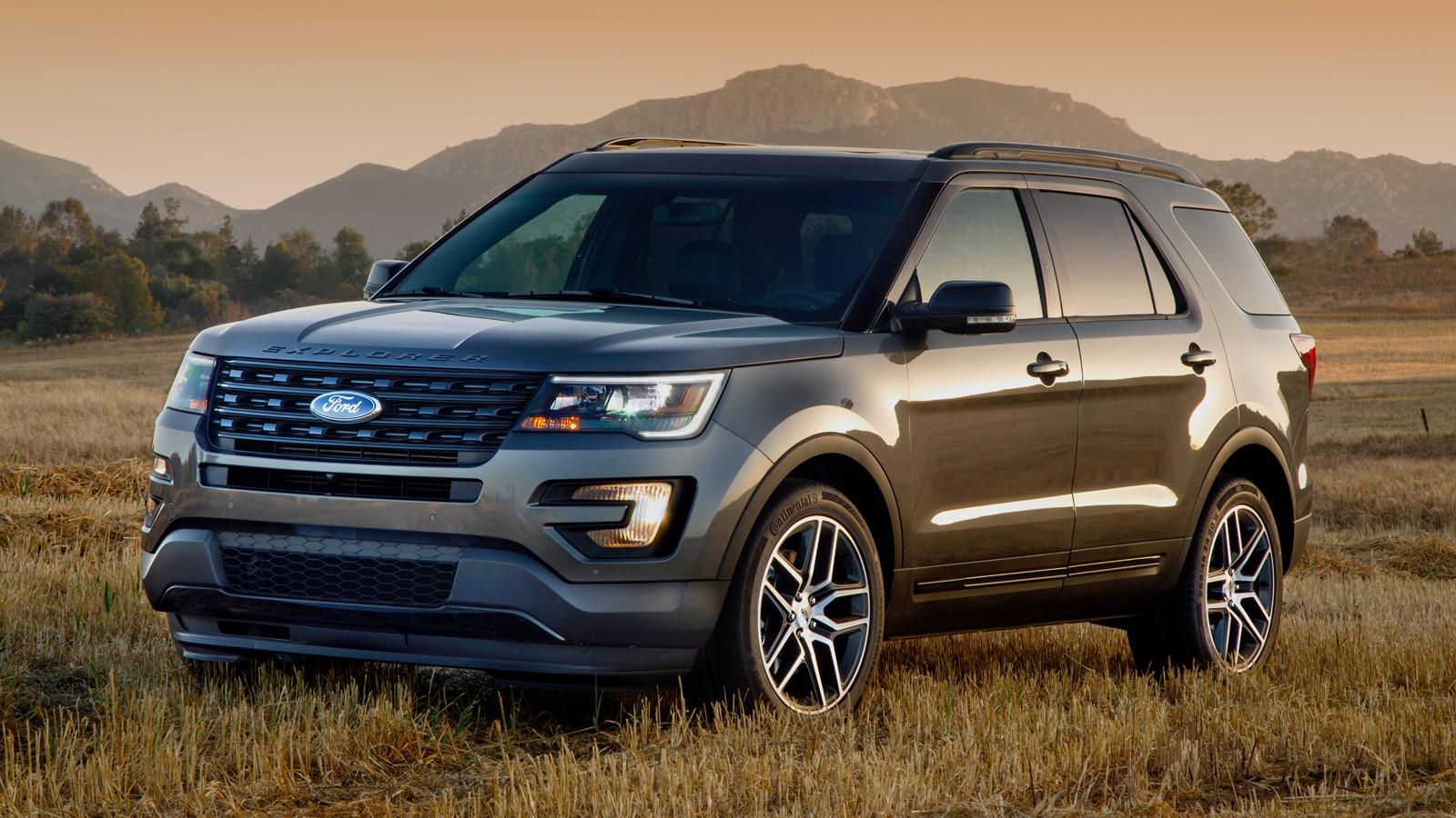 Форд предлагает выгодные условия напокупку Explorer последнего поколения