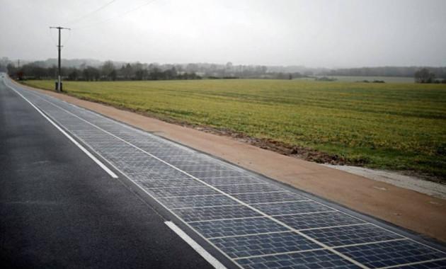 В России хотят протестировать дороги из солнечных батарей