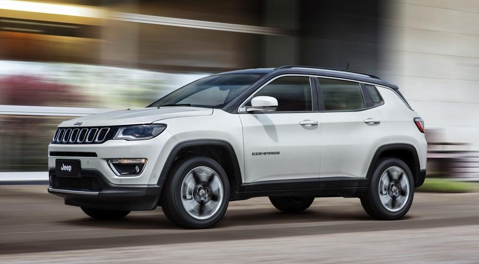 В Российской Федерации появится новый полноприводный внедорожник марки Jeep