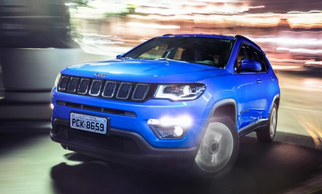 В Российскую Федерацию едет новый полноприводный внедорожник Jeep Compass
