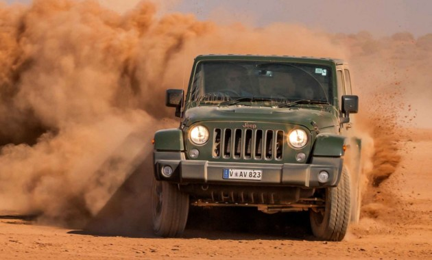 Вконце осени этого года стартует производство модифицированного Jeep Wrangler