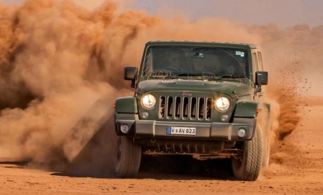 Jeep начнет серийное производство нового Wrangler вконце осени  текущего 2017г