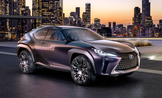Lexus готовит семиместный RX и новый субкомпактный кроссовер