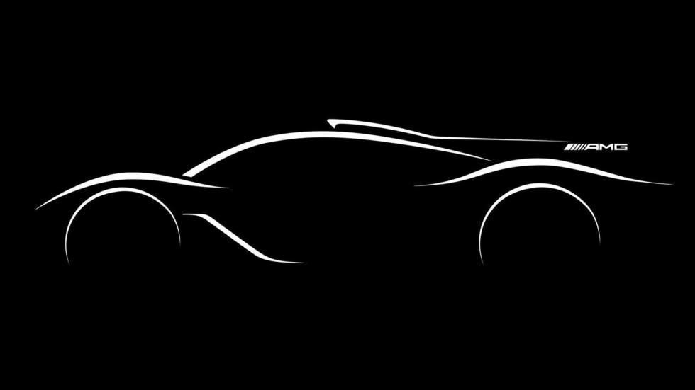 Официальный тизер гиперкара Mercedes-AMG
