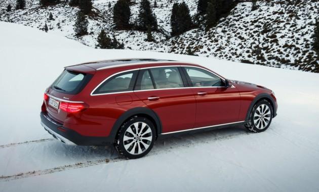 Benz в Российской Федерации анонсировал полноприводный универсал E-Class All-Terrain