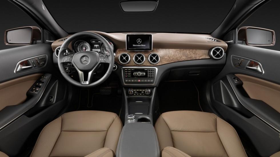 Дореформенный Mercedes-Benz GLA